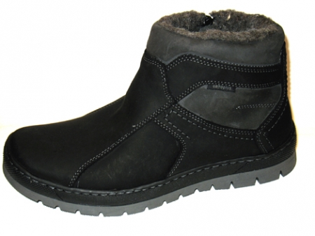 Orto Plus Pánská zimní obuv černá vzor 520