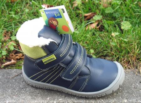 Protetika Zimní obuv vzor ARTIK green/barefoot