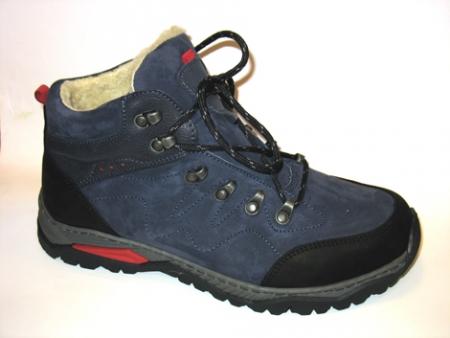 Orto Plus Pánská zimní obuv modrá vzor 409