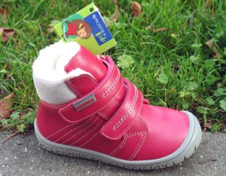 Protetika Zimní obuv vzor ARTIK fuxia/barefoot
