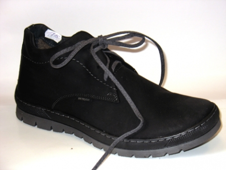 Orto Plus Pánská zimní obuv černá vzor 482